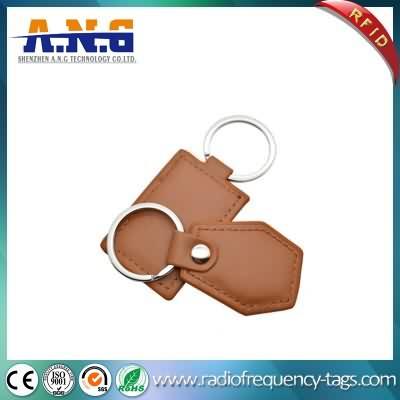Custom 125khz RFID Key Fob kulit RFID Key Chain