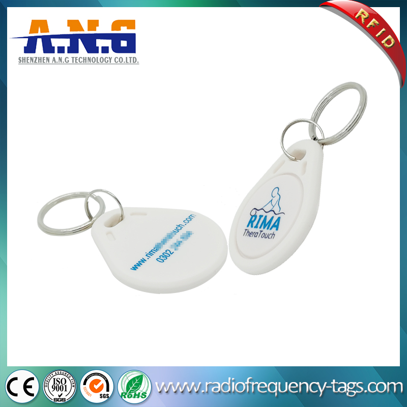 ABS Plastic Housings RFID Key Fob for Access Control