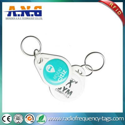 Access Control 125kHz RFID Epoxy Keyfob for Social Media Activations