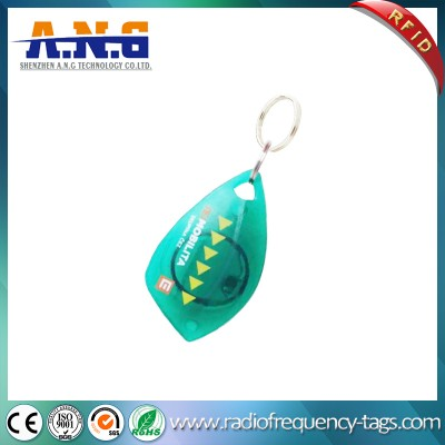 13.56MHz 14443A MIFARE Tag RFID Key Fob for Access Control