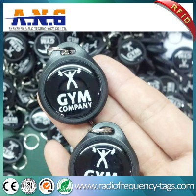 125kHz ABS Waterproof Access Control RFID Keyfob Tag