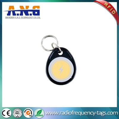 IP64防水ABS 125kHz的感应卡RFID钥匙链