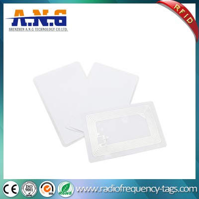 86*54mm PVC Hf RFID Tags Ntag216 Stickers