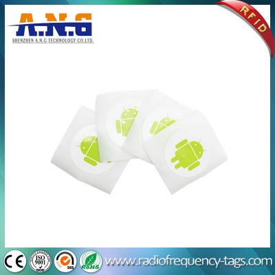 Printed Sticker ID Easing Installation Reliable NFC Ntag213 Chip