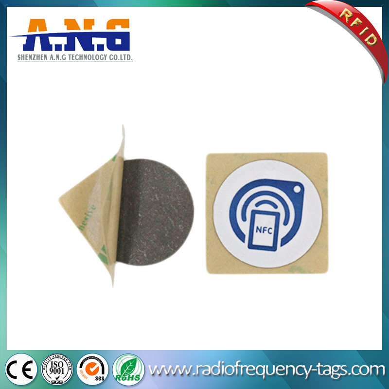 13.56MHz NFC RFID Label Sticker for Mobile Phone
