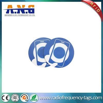 Memory 144 Bytes Ntag213 Printed Paper RFID Sticker NFC Tag