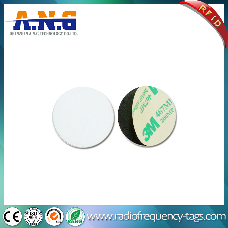 Waterproof PVC Round Hf Passive Coin Tag RFID Token Tag