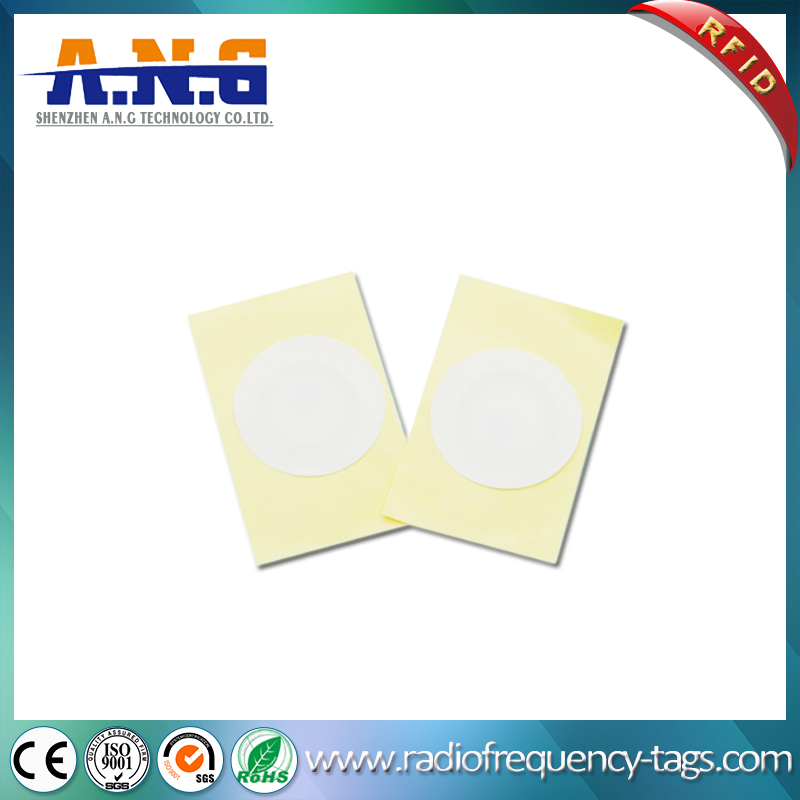 Dimension 40mm Passive Paper Printable Adhesive Lf RFID Tag