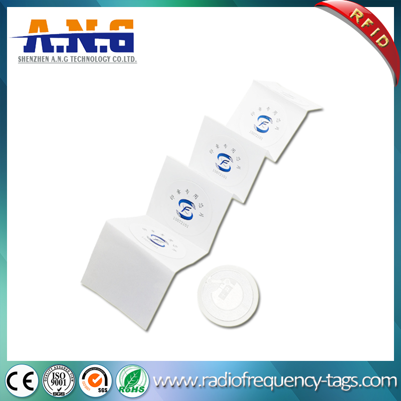 13.56MHz NFC Paper Roll Sticker for Tracking and Identification