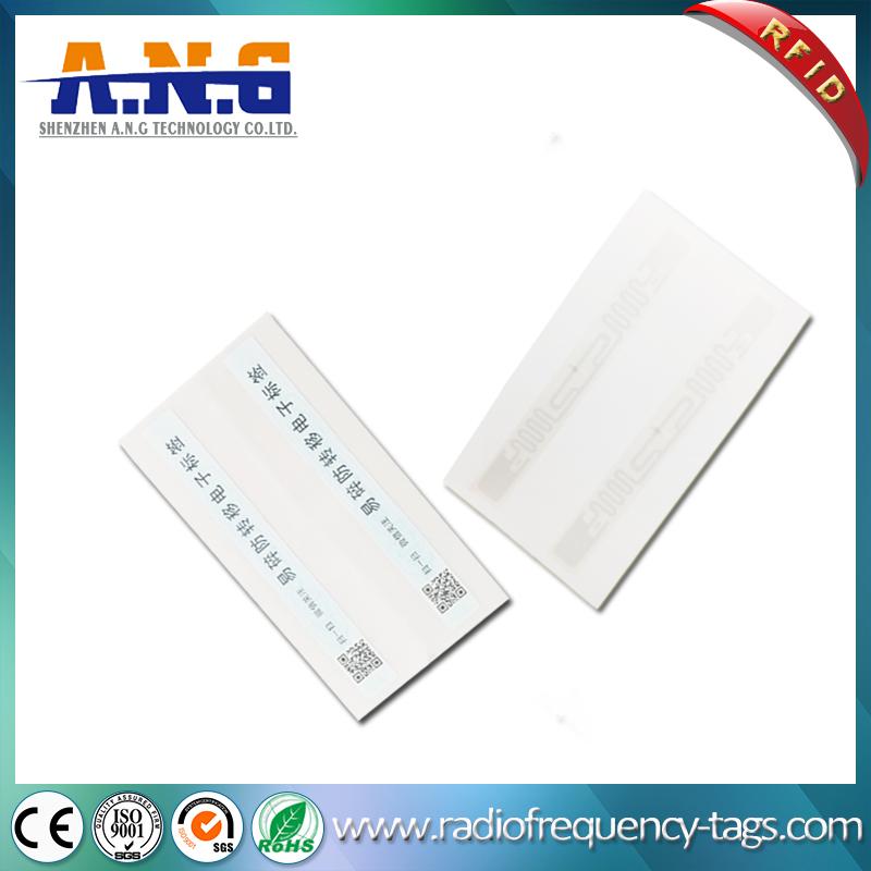 Programmable Tamper Proof UHF RFID Fragile Label Paper Seal Sticker