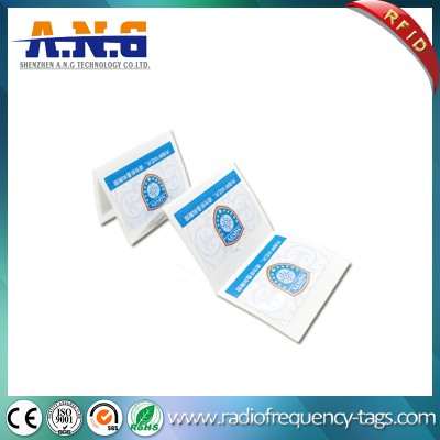 860-960MHz Tamper Proof UHF Monza 5 RFID Paper Sticker