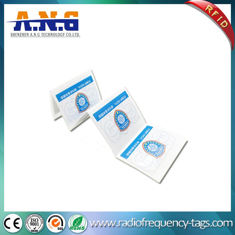 860-960MHz Tamper Proof UHF Monza 5 RFID Paper Sticker