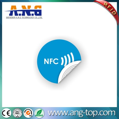 Long Range Reading Writable Paper RFID Sticker Tags