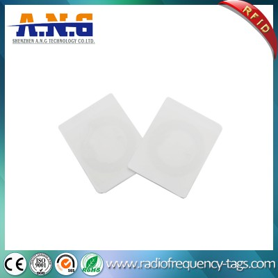 Ntag213 Passive Label Circle Chip Blank NFC Sticker