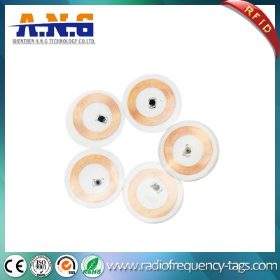 Low Frequency Printed Contactless Identification RFID Tag Label