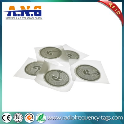 13.56MHz Passive Classic 1k S50 Sticker Tag for Access Control
