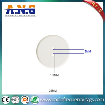 PPS High Temperature Resist RFID Laundry Tag for Garment Tracking