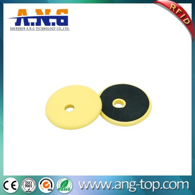 Washable PPS Material TK4100 LF RFID Coin Tag