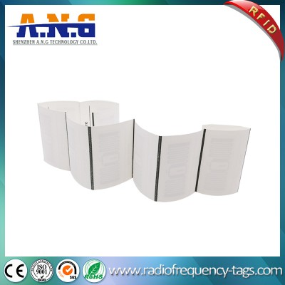 Passive UHF Fabric RFID Laundry Woven Tag for Clothing Management