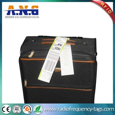 860 ~ 960MHz Monza 4 UHF RFID Caso de equipaje Etiqueta Etiqueta para el aeropuerto
