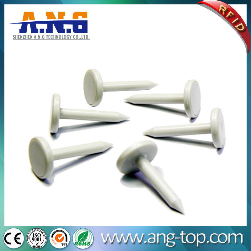 High Frequency Nail Shape RFID Tags For Tree Or Wood