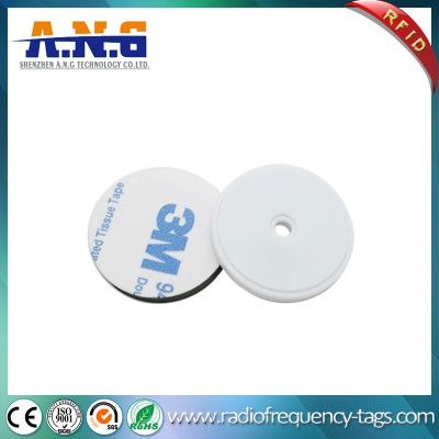 Industrial Tracking System ABS RFID passivas etiquetas rígidas com furo