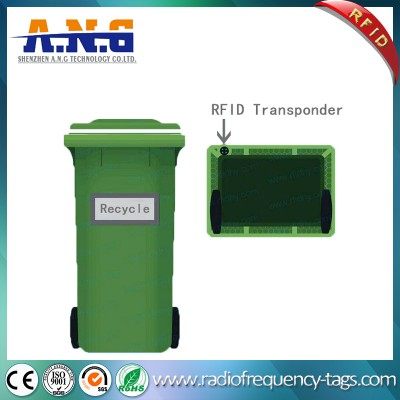 125KHz Preto Rfid Coin Tag, Iso 11784 EM4100 inteligentes RFID Tag Disc