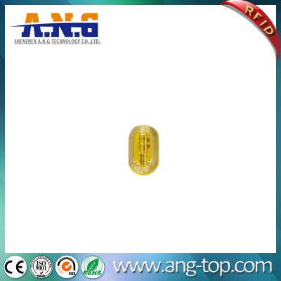 13.56MHZ NFC passif Tags RFID Finger Nail Sticker LED
