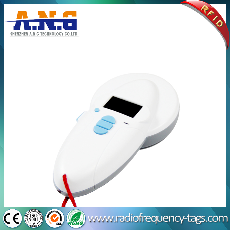Bluetooth RFID Handheld Animal Tag Reader Fdx-B for Animal Tracking