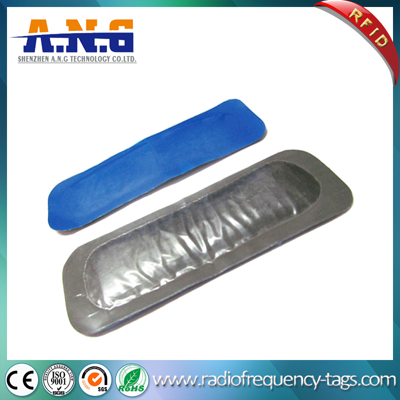 860~960Mhz Monza 4 Rubber UHF RFID Tire Tag for Tyre Tracking