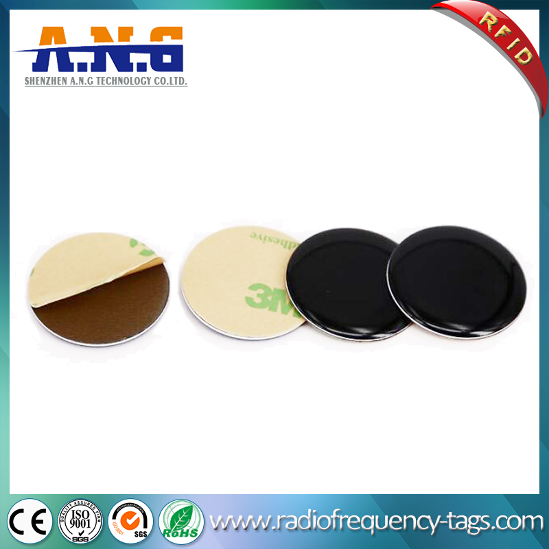 13.56MHz MIFARE Round RFID Epoxy Tag for Access Control
