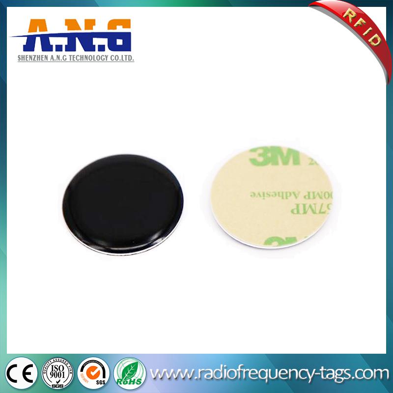 MIFARE DESFire EV1 RFID passive époxy Tag avec adhésifs 3m