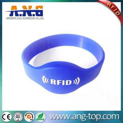 Waterproof RFID Silicone Wristband For GYM Health Care Leisure Center