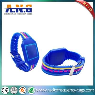 13.56MHz Smart Classic 1k RFID Wristband Bracelet for Fitness