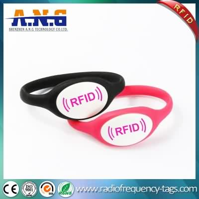 Waterproof Silicone RFID Bracelet Wristband for Football Ticket