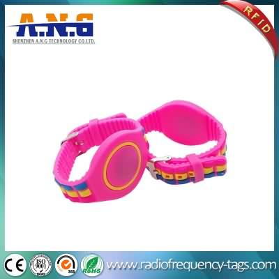Passive Adjustable RFID Wristbands for Amusement Park and Waterparks